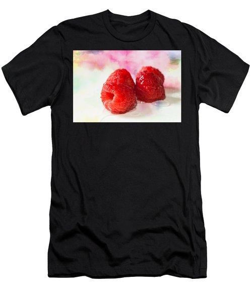 Raspberries Men's T-Shirt (Athletic Fit)