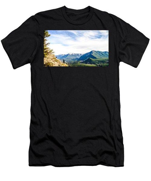 Rattlesnake Ledge Men's T-Shirt (Athletic Fit)