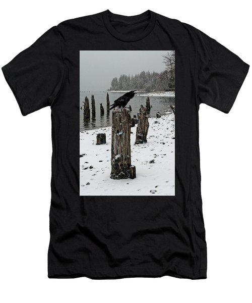 Raven Call Men's T-Shirt (Athletic Fit)