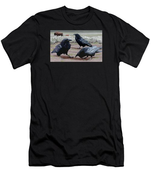 Raven Gathering Men's T-Shirt (Athletic Fit)