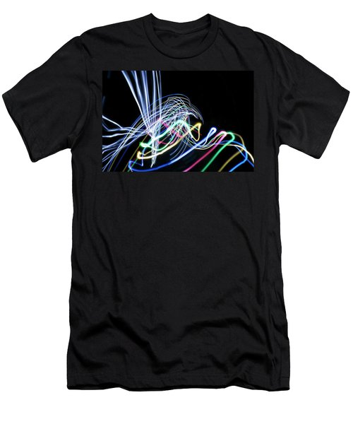 Raven In The Night Men's T-Shirt (Athletic Fit)