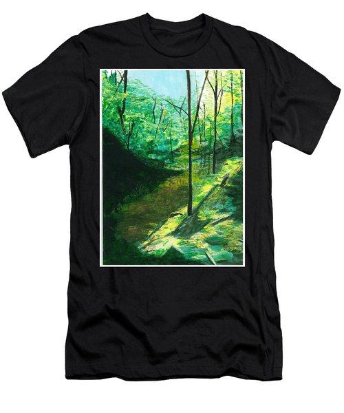 Raven Rocks 3 Men's T-Shirt (Athletic Fit)