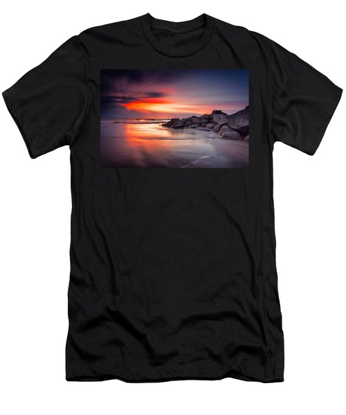 Men's T-Shirt (Slim Fit) featuring the photograph Ray Of Hope by Edward Kreis