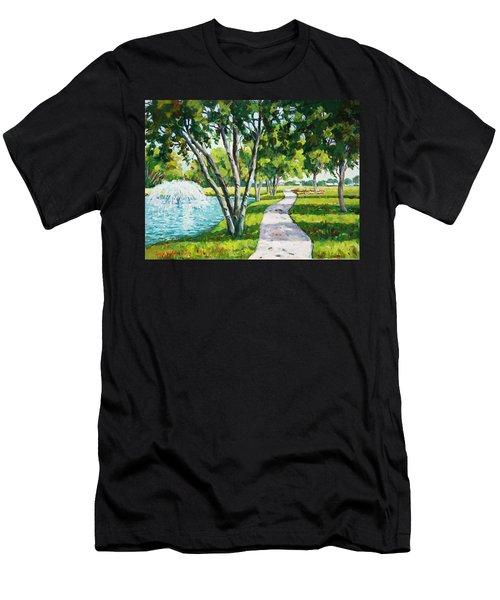 Rcc Golf Course Men's T-Shirt (Athletic Fit)