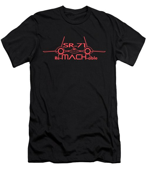 Re-mach-able Sr-71 Men's T-Shirt (Slim Fit) by Ewan Tallentire