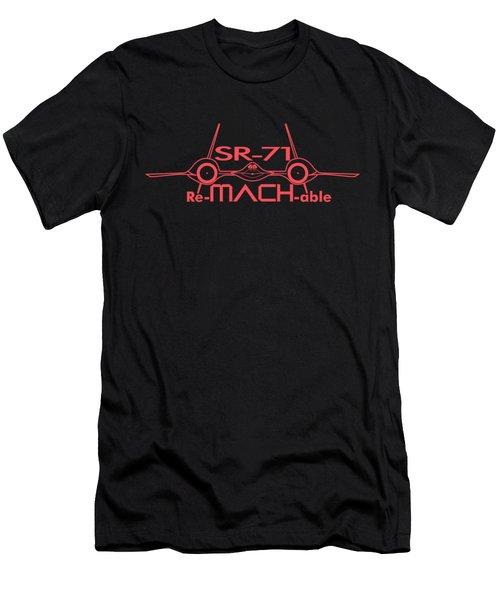Re-mach-able Sr-71 Men's T-Shirt (Athletic Fit)