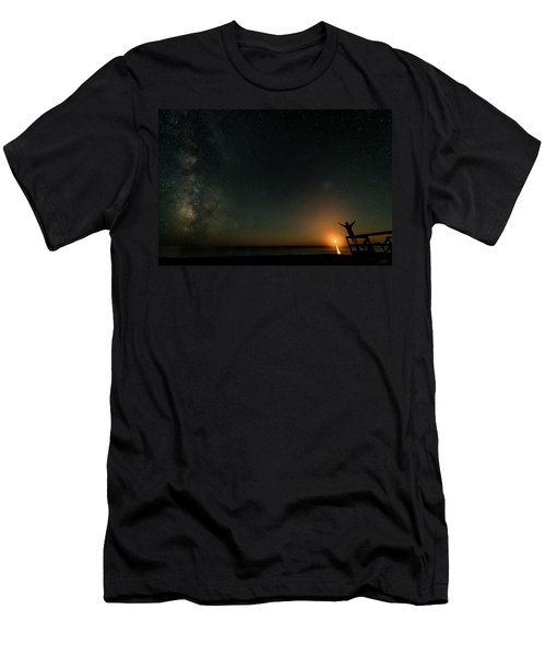 Men's T-Shirt (Athletic Fit) featuring the photograph Reach For The Stars by Doug Gibbons