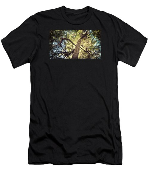 Men's T-Shirt (Slim Fit) featuring the photograph Reaching For Sun by Michele Cornelius