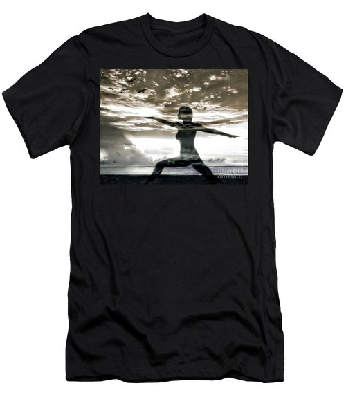 Reaching For Sunset Men's T-Shirt (Athletic Fit)