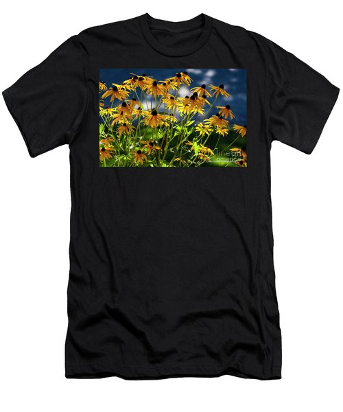 Reaching For The Blue Sky Men's T-Shirt (Athletic Fit)