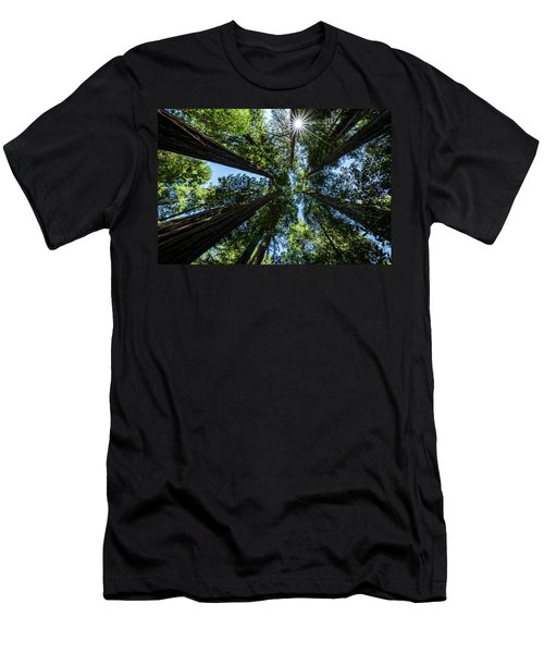 Men's T-Shirt (Athletic Fit) featuring the photograph Reaching For The Sun by John Hight