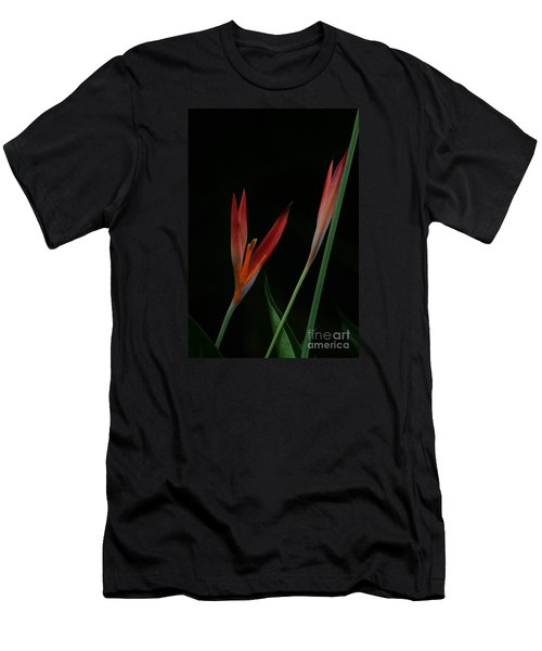Men's T-Shirt (Slim Fit) featuring the photograph Reaching by Pamela Blizzard