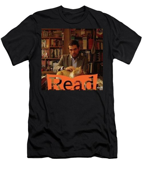 Read  National Readathon Men's T-Shirt (Athletic Fit)
