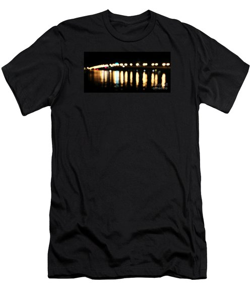 Bridge Of Lions -  Old City Lights Men's T-Shirt (Athletic Fit)