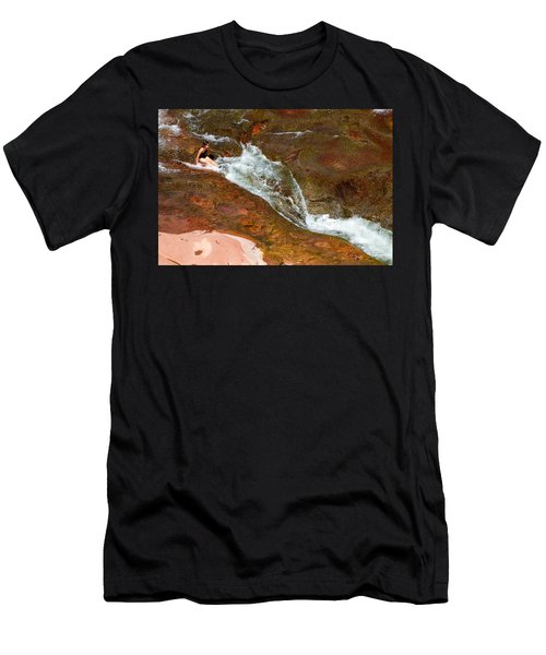 Ready For The Slide Men's T-Shirt (Athletic Fit)