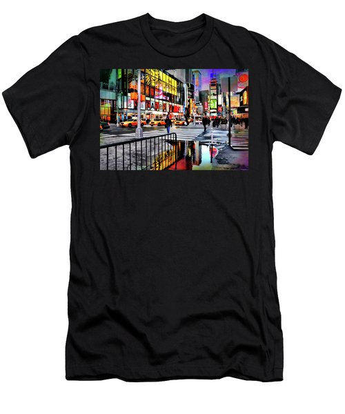 Men's T-Shirt (Slim Fit) featuring the photograph Ready Or Not by Diana Angstadt