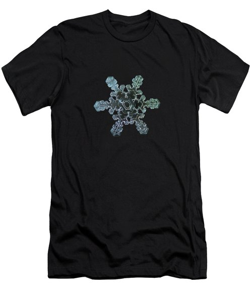 Real Snowflake - Slight Asymmetry New Men's T-Shirt (Athletic Fit)