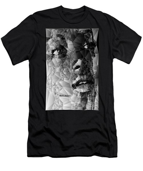 Men's T-Shirt (Athletic Fit) featuring the digital art Reality Of Hope by Rafael Salazar