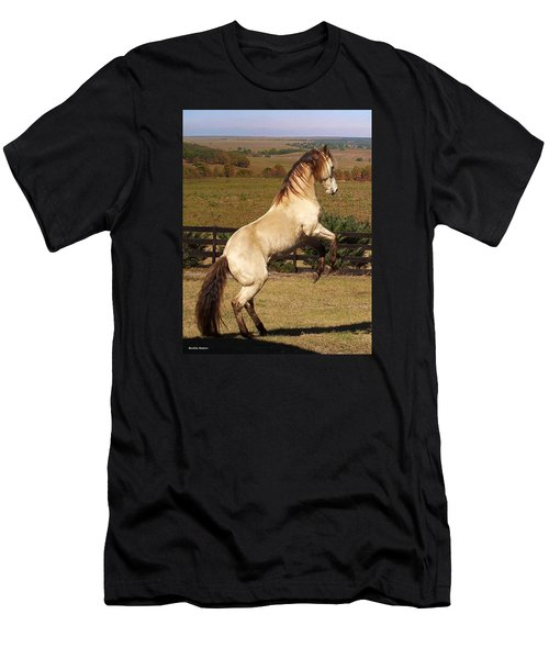 Wild At Heart Men's T-Shirt (Slim Fit) by Barbie Batson