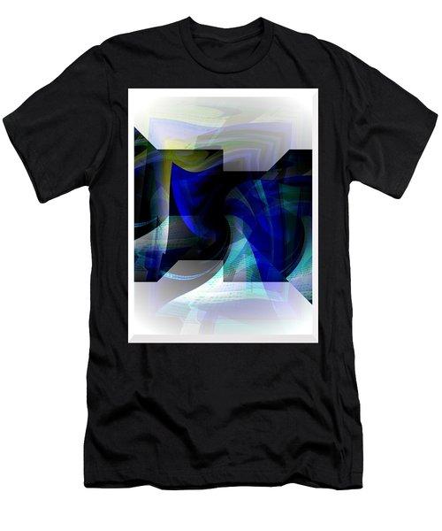 Transparency 2 Men's T-Shirt (Slim Fit) by Thibault Toussaint