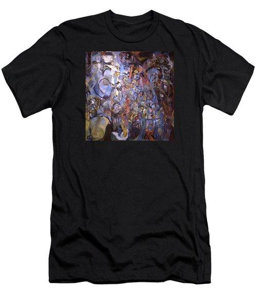 Recognition Of Baselitz, Schnabel, Langlais Men's T-Shirt (Athletic Fit)
