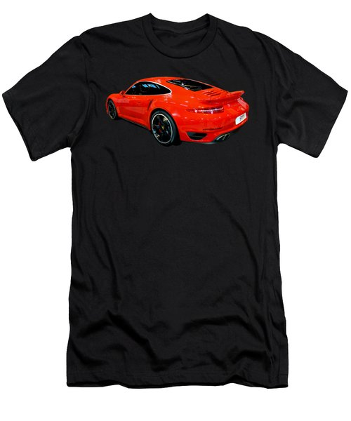 Red 911 Men's T-Shirt (Athletic Fit)