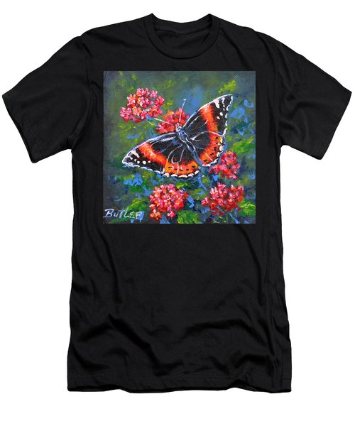Red Admiral Men's T-Shirt (Athletic Fit)