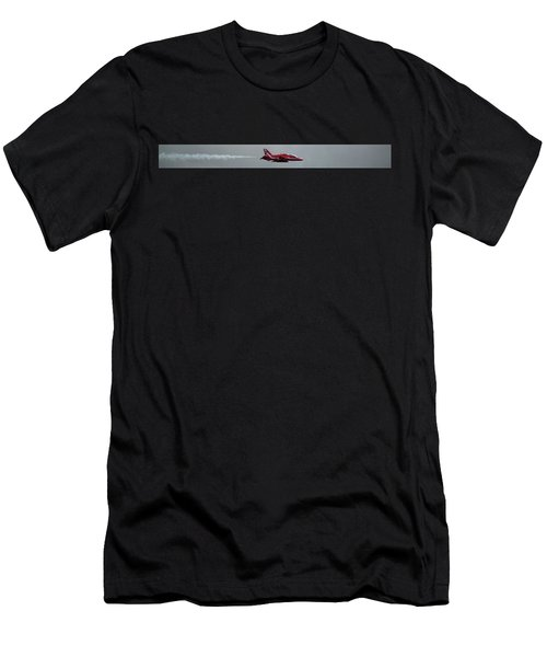 Red Arrow Straight - Teesside Airshow 2016 Men's T-Shirt (Athletic Fit)