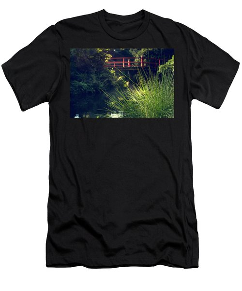 Men's T-Shirt (Athletic Fit) featuring the photograph Red At Kubota by Gene Garnace