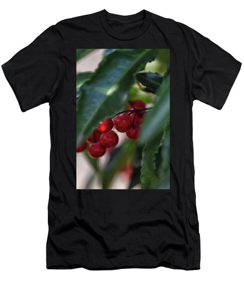 Red Berry Men's T-Shirt (Athletic Fit)