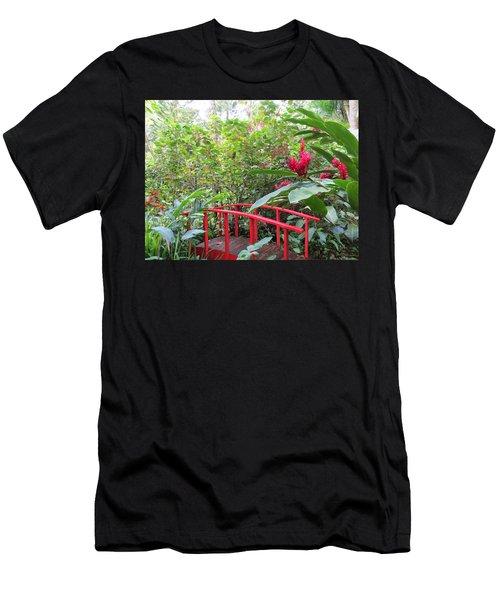 Red Bridge Men's T-Shirt (Athletic Fit)
