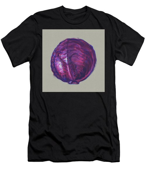 Red Cabbage Men's T-Shirt (Athletic Fit)