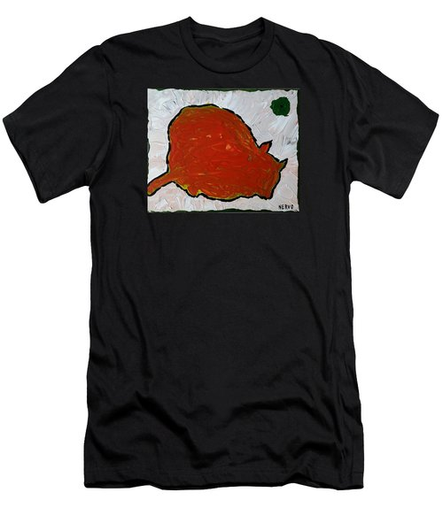 Red Cat Men's T-Shirt (Athletic Fit)