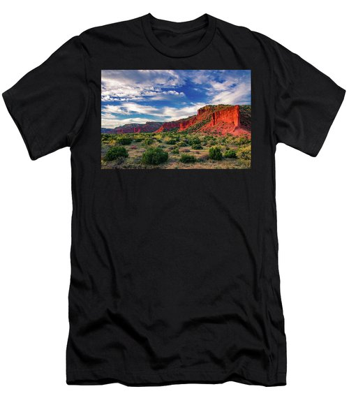 Red Cliffs Of Caprock Canyon 2 Men's T-Shirt (Athletic Fit)