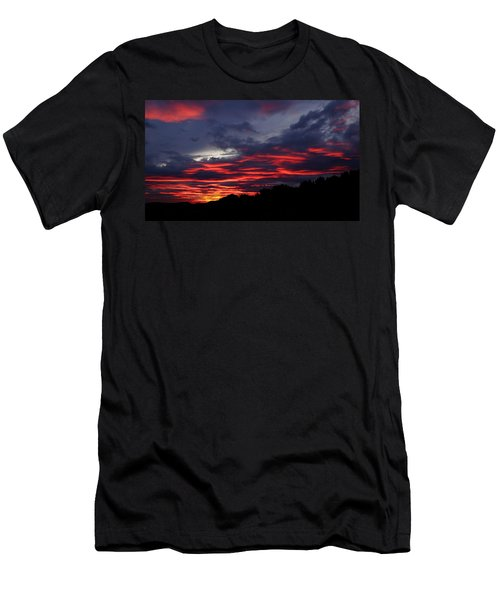 Red Cloud Mountain Men's T-Shirt (Athletic Fit)