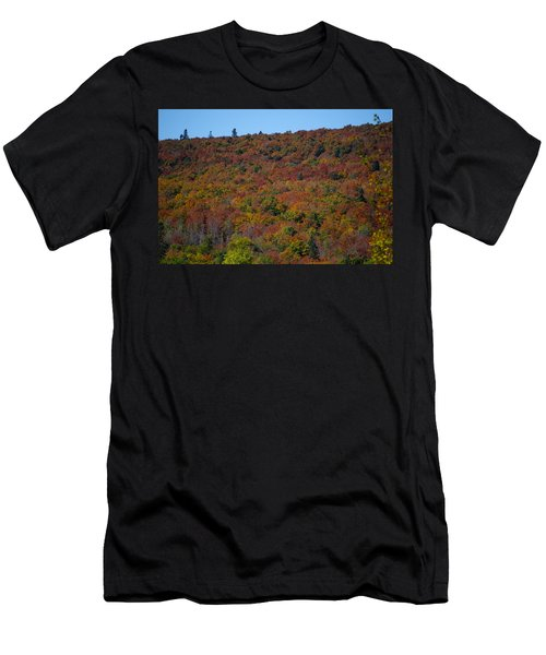Red Colored Tress Are Showy Men's T-Shirt (Athletic Fit)
