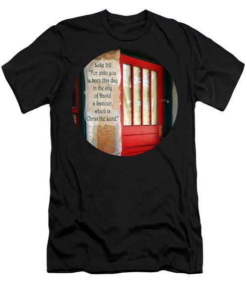 Red Door - Verse Men's T-Shirt (Athletic Fit)
