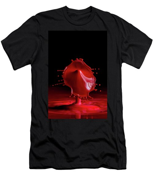 Red Drop Men's T-Shirt (Athletic Fit)