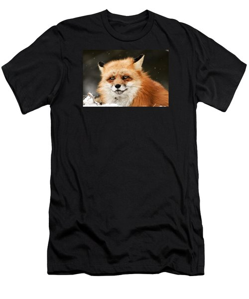 Red Fox Men's T-Shirt (Athletic Fit)
