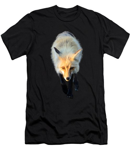 Red Fox Shirt Men's T-Shirt (Athletic Fit)