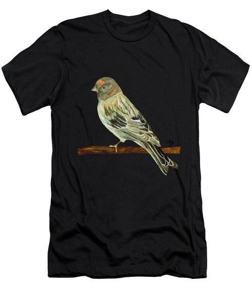 Red-fronted Serin Men's T-Shirt (Athletic Fit)
