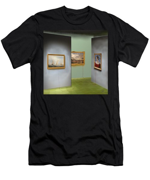 Red Gallery Men's T-Shirt (Athletic Fit)