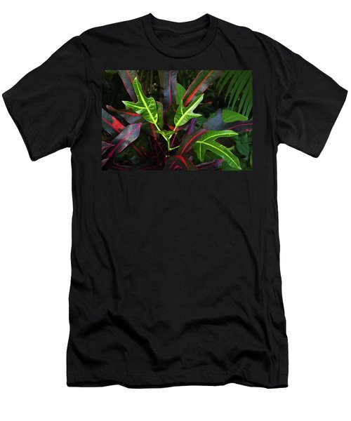 Red Hot And Green Men's T-Shirt (Athletic Fit)