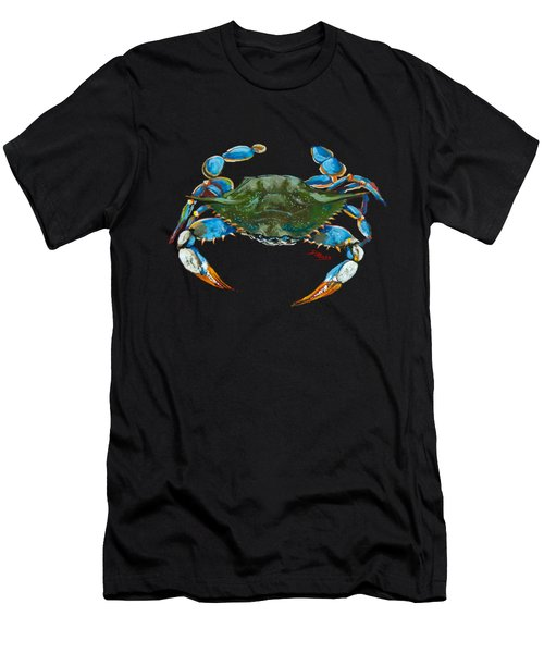 Red Hot Crab Men's T-Shirt (Athletic Fit)