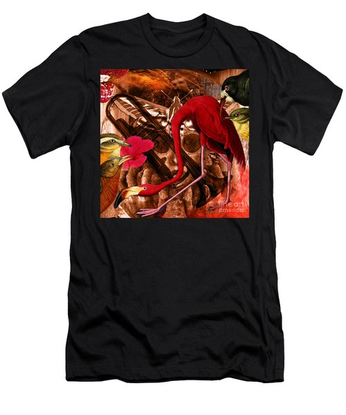 Red Hot Soul Music Men's T-Shirt (Athletic Fit)