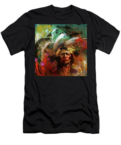 Red Indians 02 Men's T-Shirt (Athletic Fit)