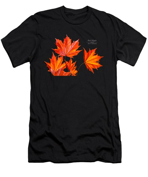 Red Maple Men's T-Shirt (Athletic Fit)