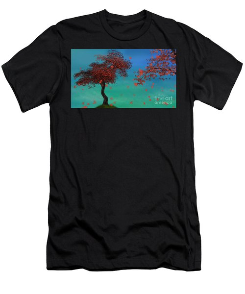 Red Maples Men's T-Shirt (Athletic Fit)