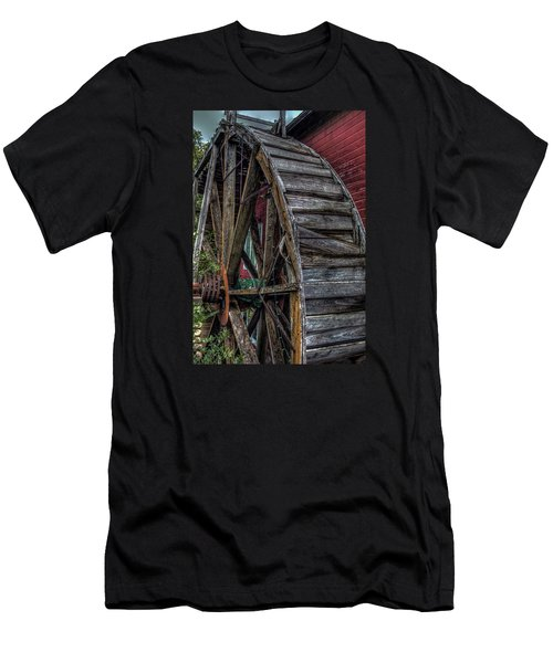 Red Mill Wheel 2007 Men's T-Shirt (Athletic Fit)