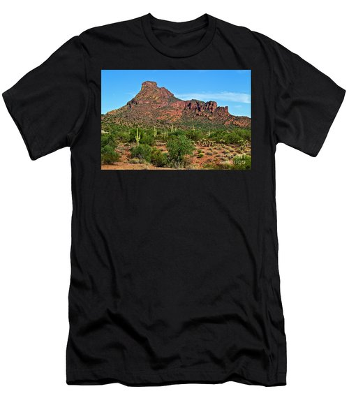 Red Mountain Men's T-Shirt (Athletic Fit)